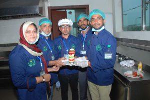 Baking Students
